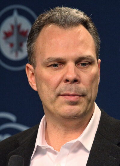 Winnipeg Jets General Manager Kevin Cheveldayoff