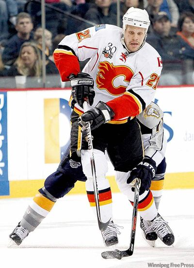 Olli Jokinen has had some good years in a Flames uniform, but not recently.
