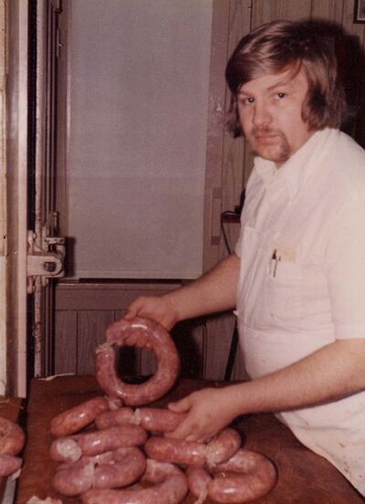 SUPPLIED</p><p>Klopick — the King of Kobassa — started Tenderloin Meat & Sausage in 1985.</p>
