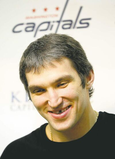 Pablo Martinez Monsivais / the associated pressAlex Ovechkin says he�s healthy and in good shape after starting the season with the KHL�s Dynamo Moscow.