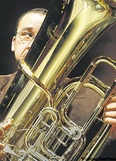 WSO's Chris Lee: tuba front and centre