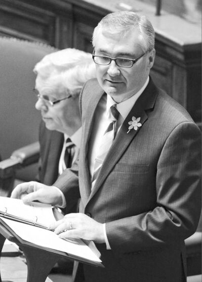 Finance Minister Stan Struthers