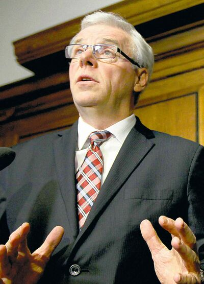 Greg Selinger announces his decision to remove Christine Melnick from caucus.
