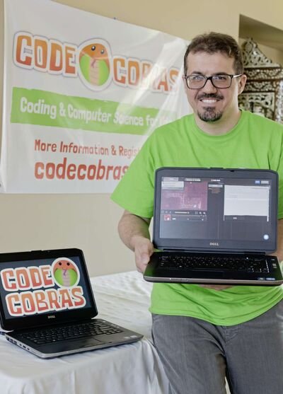 Idris Elbakri is the co-founder of Code Cobras, a new coding and computer science program for kids which is offering its first summer camp this year.