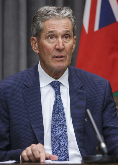 Premier Brian Pallister says everyone has to follow the province's public-health rules. (Mike Deal / Winnipeg Free Press files)