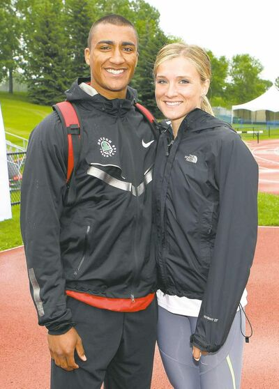 THE CANADIAN PRESS American Ashton Eaton and Canadian Brianne Theisen were married on Saturday in Oregon.