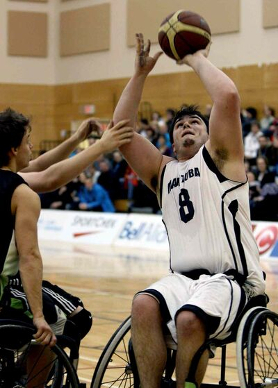 Aaron Moseley-Williams was selected for the second time to represent Canada on it's men's wheelchair Paralympic basketball team.