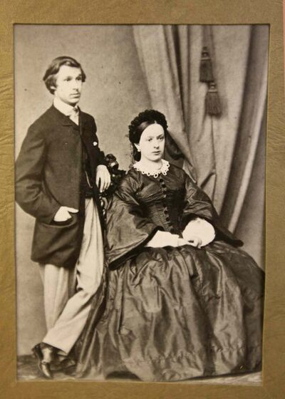 An early photo of Else Vane and Percy Criddle.