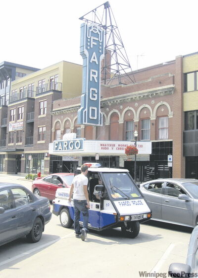 The Fargo Theatre has been restored to all its art deco glory.