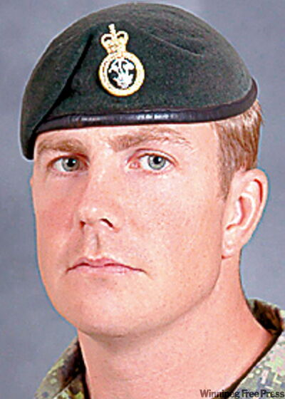 Master Cpl. Jeffrey Walsh, initially was excluded from the medal because he was killed accidentally by another Canadian soldier in 2006.