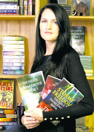 Tracy Van Gorp is the author of the Thunder From Above series of books.