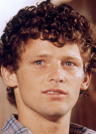 Terry Fox is shown during a Dec.5, 1980 interview in Toronto. Fox, a vaccine pioneer and the scientist who led the team that discovered the gene for cystic fibrosis are being inducted into the Canadian Medical Hall of Fame.THE CANADIAN PRESS/Chuck Stoody