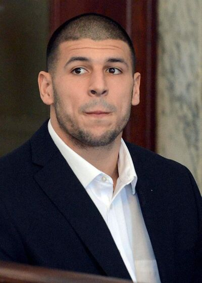 Mike George / the associated press archivesThe accused: Aaron Hernandez