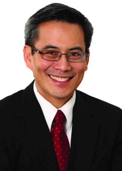 An April 2011 campaign handout photo from the Liberal Party of Ted Hsu.
