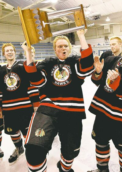 Jesse Toth  joined the Charleswood Hawks to win games and titles -- and win he has.