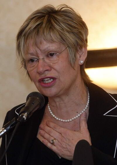 Education Minister Nancy Allan