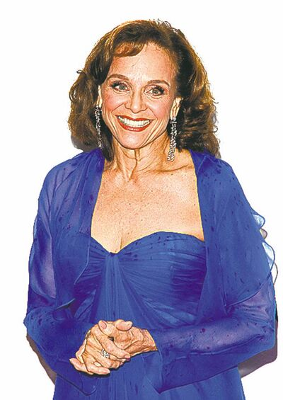 In this June 13, 2010 photo, Valerie Harper arrives at the 61st Annual Tony Awards in New York. The 73-year-old actress, who played Rhoda Morgenstern on television in the 1970s, was diagnosed with brain cancer in March. according to a report Wednesday, March 6, 2013 on People magazine's website.