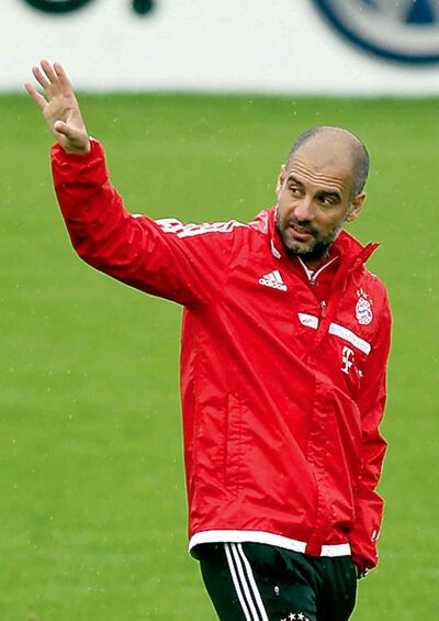 Bayern Munich manager Pep Guardiola is feasting on the Bundesliga.
