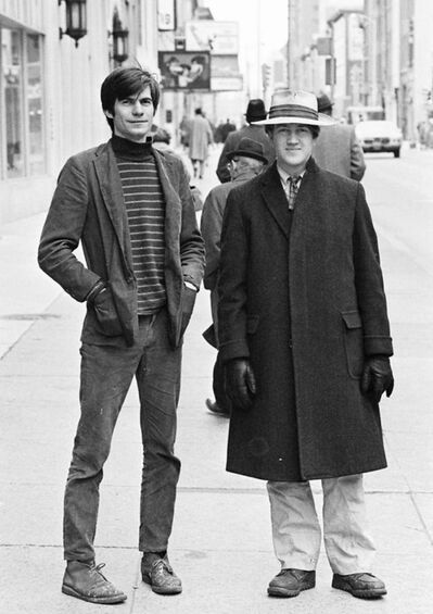 Film Constellation</p><p>David Lynch (right) and his friend Jack Fisk, who would go on to become a production designer for Lynch's Mulholland Drive, as well as Badlands, Phantom of the Paradise, There Will Be Blood and many others. </p>