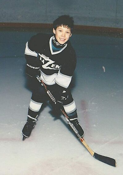 Jeff Lau loved hockey as a youngster. He also dreamed of travelling the world.