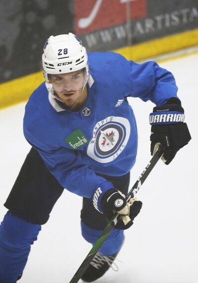 Jack Roslovic is the Jets RFA that stands to see the biggest raise.
