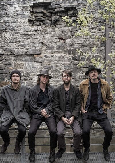 Yani Clarke photo</p><p>Half Moon Run (from left), Isaac Symonds, Conner Molander, Dylan Phillips and Devon Portielje, are back in town for a night at the Burton Cummings Theatre Tuesday.</p>
