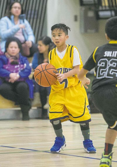 MIKE DEAL / WINNIPEG FREE PRESSAndrei Capucion was one of about 1,000 players who competed in the opening day of Winnipeg�s Philippine Basketball Association.