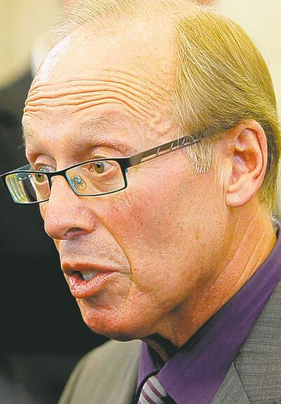 BORIS MINKEVICH / WINNIPEG FREE PRESS Archives Sam Katz: 'The city is always left holding the bag.'