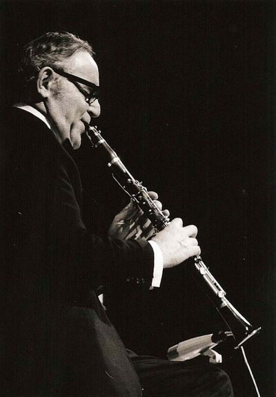 Columnist Ron Buffie dreamed of playing clarinet like Benny Goodman.