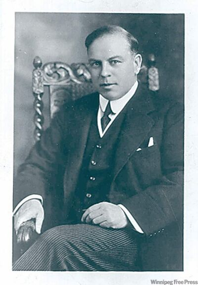 R. Hon W.L. Mackenzie King, leadership 1919. - ( Credit  National Film Board) Photo dated June 16, 1945)  For Randy Boswell (CanWest) story moving Sunday for Monday papers.