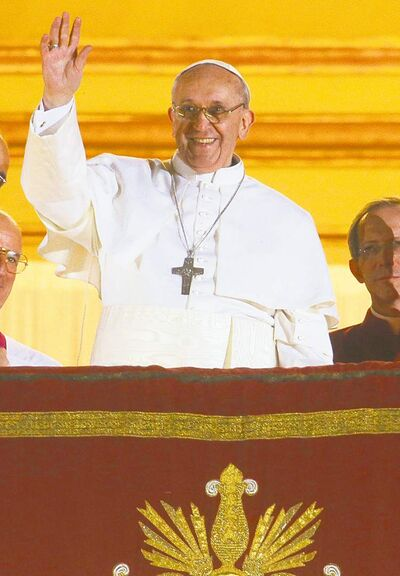 Pope Francis chose his pontifical name in honour  of St. Francis of Assisi.