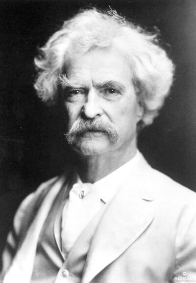 The Associated Press archivesMark Twain elevated the telegram to an art form.