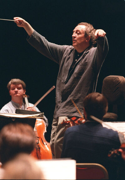 Bramwell Tovey, seen in 1996, when he was artistic director of the WSO.