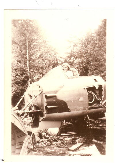 Royal Cdn Air Force Flt. Lt. Bill McKenzie, a Winnipegger, crashed into a remote lake in Northwest Ontario while flying a still experimental jet fighter plane from Edmonton to an air show in Hamilton on June 29, 1946.