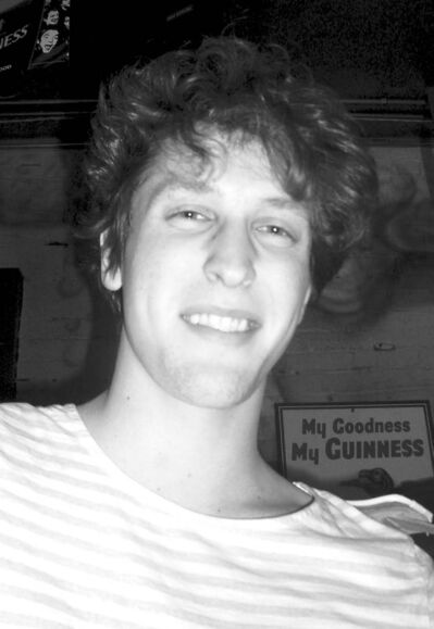Charity-night organizer and performer James Struthers.