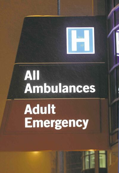 A doctor's laptop was taken from the hepatology clinic at Health Sciences Centre on Sept. 10.