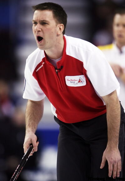 Brad Gushue's big mouth landed him in hot water earlier this week but his fine has since been rescinded by the CCA.