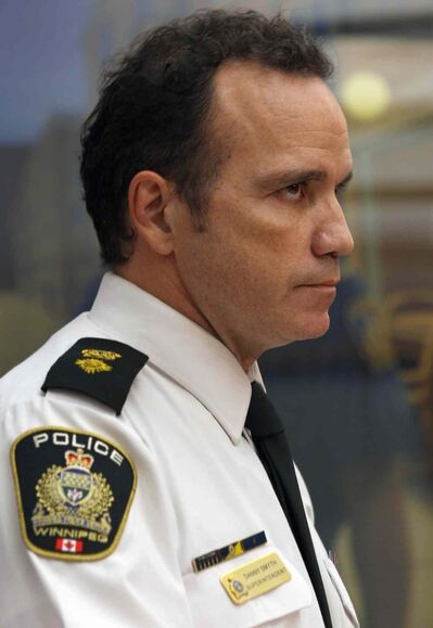 """""""The Harper family have been tremendous to deal with,"""" said Winnipeg Police Service Superintendent Danny Smyth."""