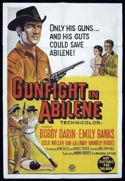 Universal Studios&#39; Gunfight in Abilene (1967) was Rhodes&#39; American film debut.</p>