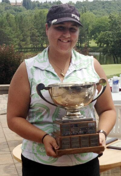 Bri-Ann Tokariwski of Elmhurst Golf and Country Club won the Golf Manitoba Women's Amateur Championship for the second year in a row.