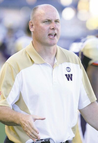 MIKE DEAL / WINNIPEG FREE PRESS archivesBlue Bombers� head coach Paul LaPolice has expressed displeasure with the �airplane people.�