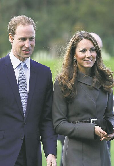 The associated pressWilliam and Kate have ended pregnancy speculation.