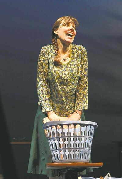 Debbie Patterson plays multiple characters in her one-woman play.