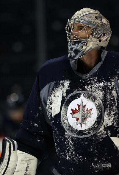 Winnipeg Jets stoic goaltender Connor Hellebuyck will get a chance to show his skills in the coming weeks.