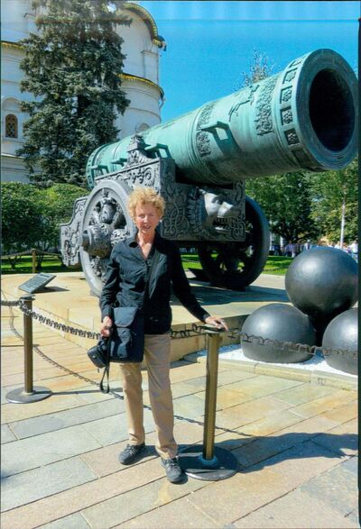 Supplied</p><p>Margaret Kentner on a trip to Moscow, Uzbekistan and Kahksikstan in 2015.</p>