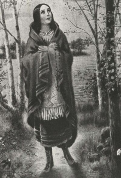 THE CANADIAN PRESS FILES</p><p>Kateri Tekakwitha, a Mohawk, is a Roman Catholic saint who died in 1680.</p>