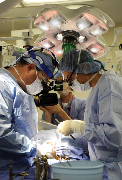 NY Med's cameras observe operations and other life-and-death situations.