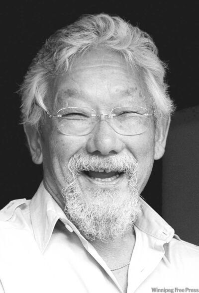 CHRIS YOUNG / THE CANADIAN PRESS ARCHIVESDavid Suzuki is planning a multi-country tour this fall to promote his new book Legacy.