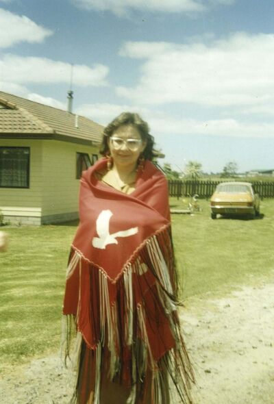 SUPPLIED</p><p>Fontaine attended the World Indigenous Peoples Education Conference in New Zealand in 1990.</p></p>