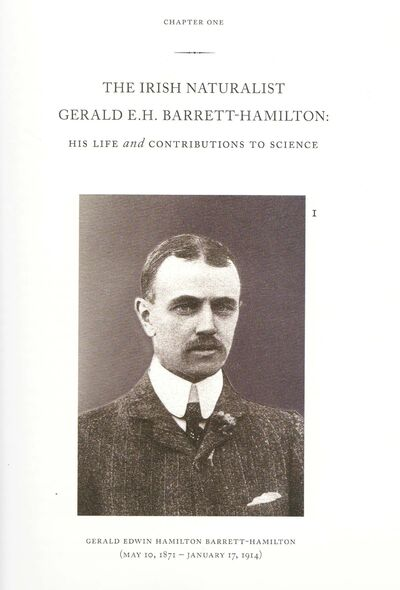 Supplied</p><p>An illustration of Ariel Gordon's great-grandfather Gerald Barrett-Hamilton in the book about him and his work, For the Love of Nature: Mammals Described and Illustrated by the Naturalists Gerald E.H. Barrett-Hamilton and Edward Adrian Wilson, by Martin J. Hollenberg, 2008.</p></p>